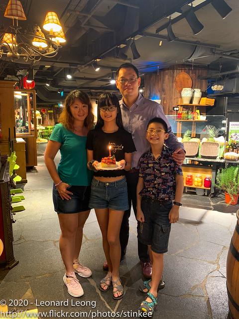 Free birthday cake for Erin