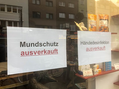 Hamsterkäufe wegen Coronavirus: Mundschutz und Hygienegel vergriffen
