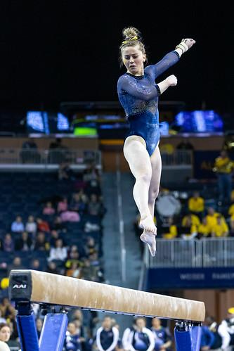 MGoBlog-JD Scott-University of Michigan-Women's Gymnastics-New Hampshire-2.28.20-2-39
