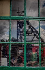 Colliery Window Reflection