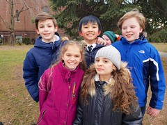 Sixth-Graders After School