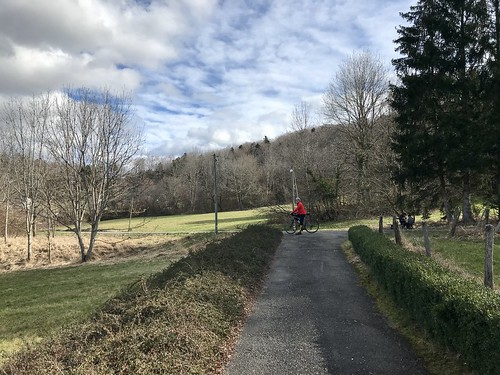 Alsace spring spin with my buddy DeDe