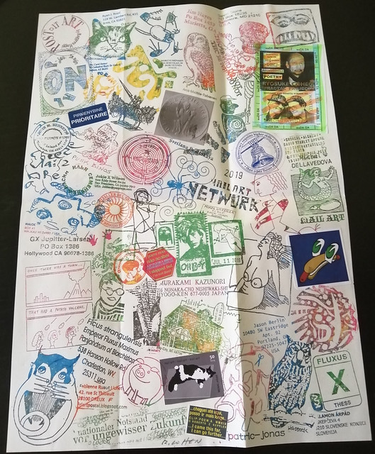 MAIL ART PROJECT #IYE2020 draw your cover // Release 23 - fanzine