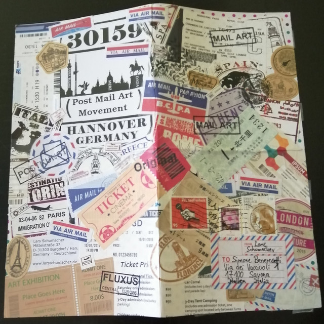 MAIL ART PROJECT #IYE2020 draw your cover // Release 12 - fanzine