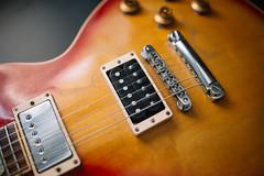 Gibson Les Paul Standard pickups closeup