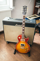 Gibson Les Paul Standard and Marshall Bluesbreaker 1962