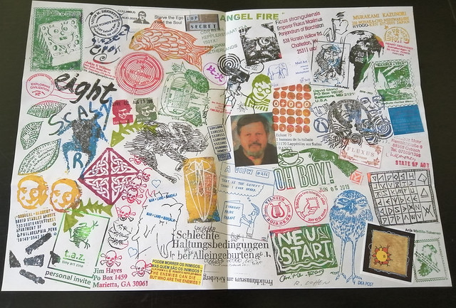 MAIL ART PROJECT #IYE2020 draw your cover // Release 26 - fanzine