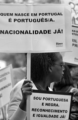 "25 Abril 2017 - ""I'm Portuguese and Black. Recognition and Equality NOW!"