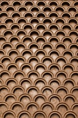 Brown geometrical pattern - Credit to https://homegets.com/