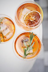 Sliced orange fruit in clear drinking glass - Credit to https://homegets.com/