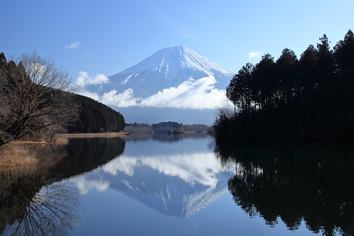 There are lots of sightseeing spots around Mt. Fuji.