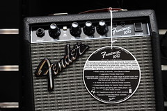 Fender Frontman 10G amplifier detail - f/5.6
