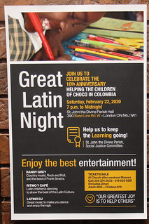 The GREAT LATIN NIGHT