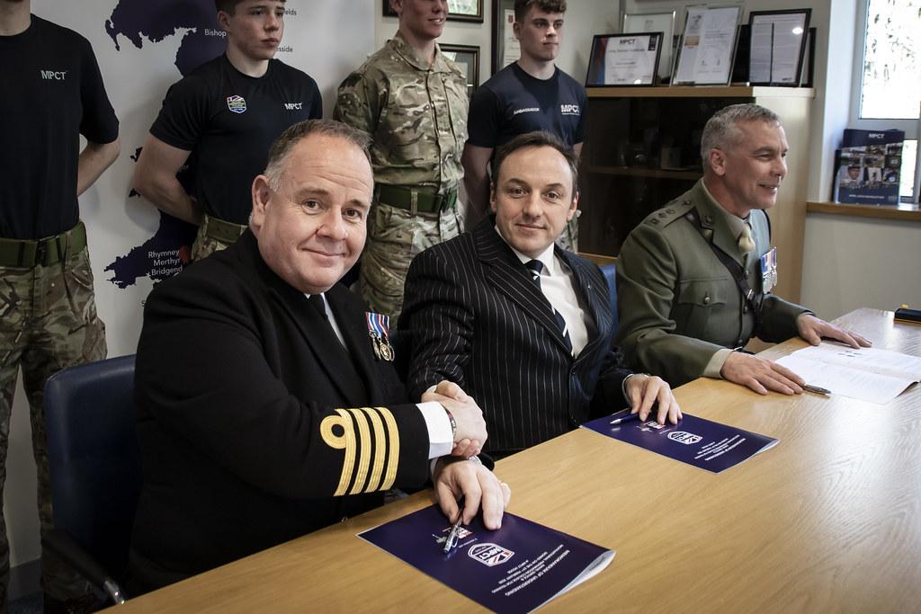 Royal Navy & Royal Marines Memorandum of Understanding signing 2020
