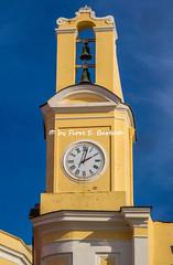 Procida (NA), 2020, Santuario Madonna delle Grazie. Il campanile.