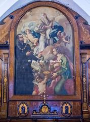 Procida (NA), 2020, Santuario Madonna delle Grazie. Particolare della sagrestia.