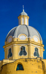 Procida (NA), 2020, Santuario Madonna delle Grazie. La cupola.