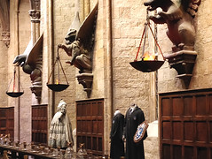 Ravenclaw table, Hogwarts Great Hall