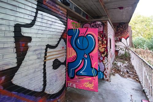 Urbexgraffiti - Jibe - Restaurant Universitaire, Toulouse, Jun 2019