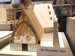 Model of Hogwarts divination class