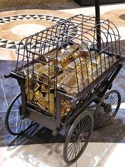 Cart of gold ingots at Gringott's