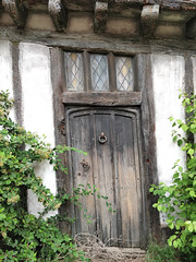 Door of the Potter cottage in Godric's Hollow