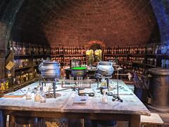 Potions classroom at Hogwarts