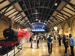 Hogwarts Express at Platform 9 3/4