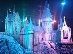 Scale model of Hogwarts Castle