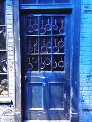 Shop door in Diagon Alley
