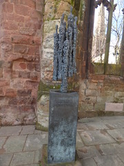 Return to the ruins of the old Coventry Cathedral - Choir of Survivors sculpture