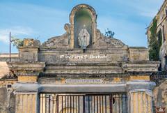 Procida (NA), 2020, La Terra Murata e le vie di accesso. Ingresso al  Palazzo d'Avalos, l'ex Carcere Borbonico.