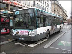 Irisbus Citélis Line – RATP (Régie Autonome des Transports Parisiens) / STIF (Syndicat des Transports d'Île-de-France) n°3713