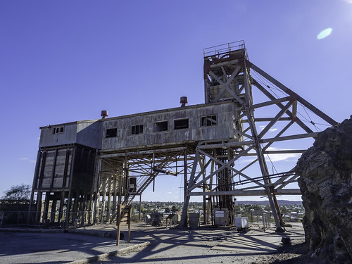 2/7 Old JUNCTION MINE and lookout over NORTH MINE - Broken Hill NSW - see below