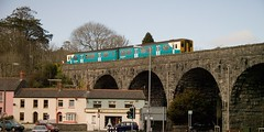 150208 on Tenby viaduct 2