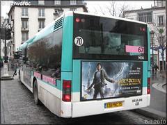 Man NL 223 – RATP (Régie Autonome des Transports Parisiens) / STIF (Syndicat des Transports d'Île-de-France) n°9036