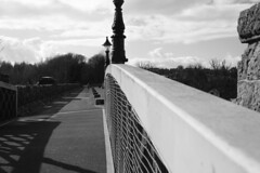 Randalstown Viaduct Black and White