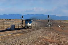 Amtrak 3, Rio Puerco, N.M.