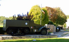 Memorial to Free French Forces meeting 12.9.44, Nod-sur-Seine, Côte-d'Or, France.