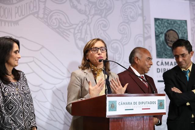 27/02/2020 Conferencia de prensa Comisión de Ciencia y Tecnología