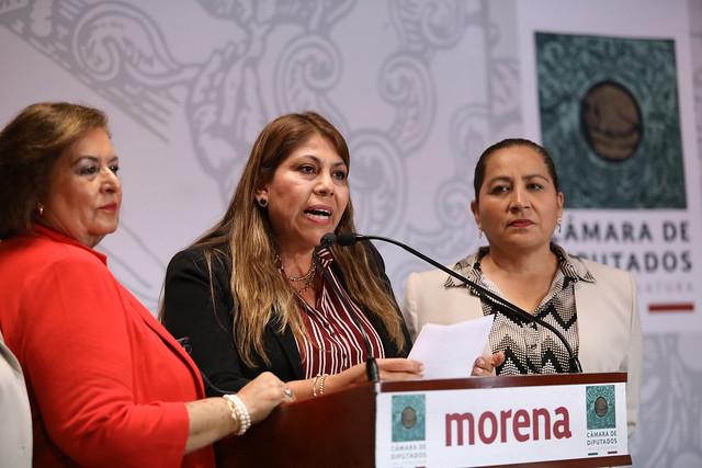 27/02/2020 Conferencia de Prensa Dip. Carmina Yadira Regalado Mardueño