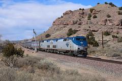 Amtrak 4, Los Cerrillos, N.M.