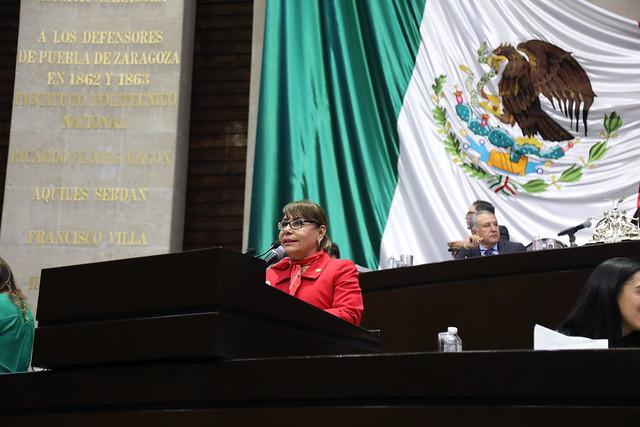 03/03/2020 Tribuna Diputada María Esther Mejía