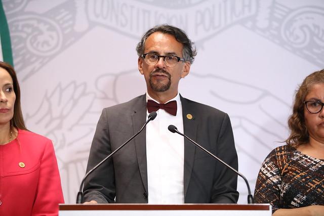 27/02/2020 Conferencia de Prensa Dip. Javier Hidalgo Ponce