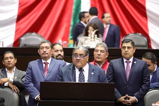 27/02/2020 Tribuna Dip. Francisco Javier Borrego Adame