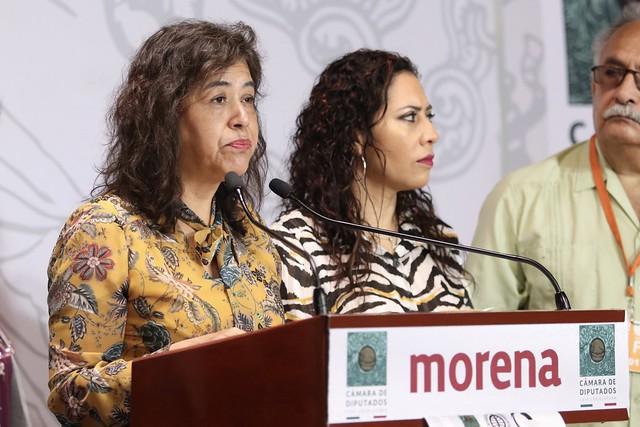 03/03/2020 Conferencia de Prensa Dip. Adela Piña Bernal