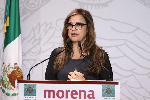 03/03/2020 Conferencia de Prensa Dip. Lorena Villavicencio Ayala