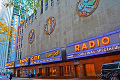 Radio City Music Hall 50th St Rockefeller Center RCMH 6th Ave Avenue of the Americas Midtown Manhattan New York City NY P00456 DSC_1695