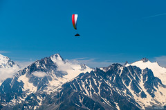 Gliding over Verbier