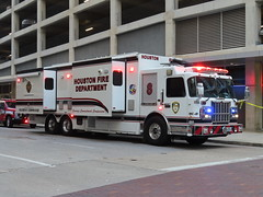 Houston Fire Department Spartan ERV Command Unit